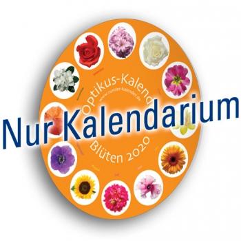 """Kalenderblätter """"Blüten"""", 2020"""