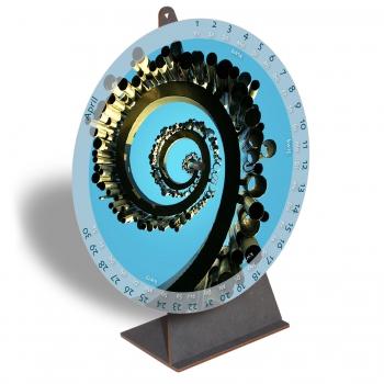 Kalender Spiralen 2021, April