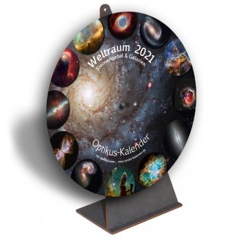 Kalender Weltraum 2021, Titel