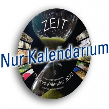 """Kalenderblätter """"Zeit"""", 2020"""