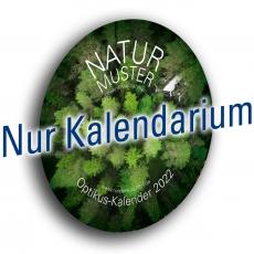 """Kalenderblätter """"Naturmuster"""", 2022"""